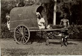Travel by bullock cart
